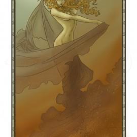 ElfQuest Fan Art – Blood of Ten Chiefs – Huntress Skyfire