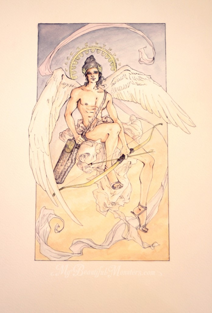 Month of Love- Weapons :Eros, God of Love