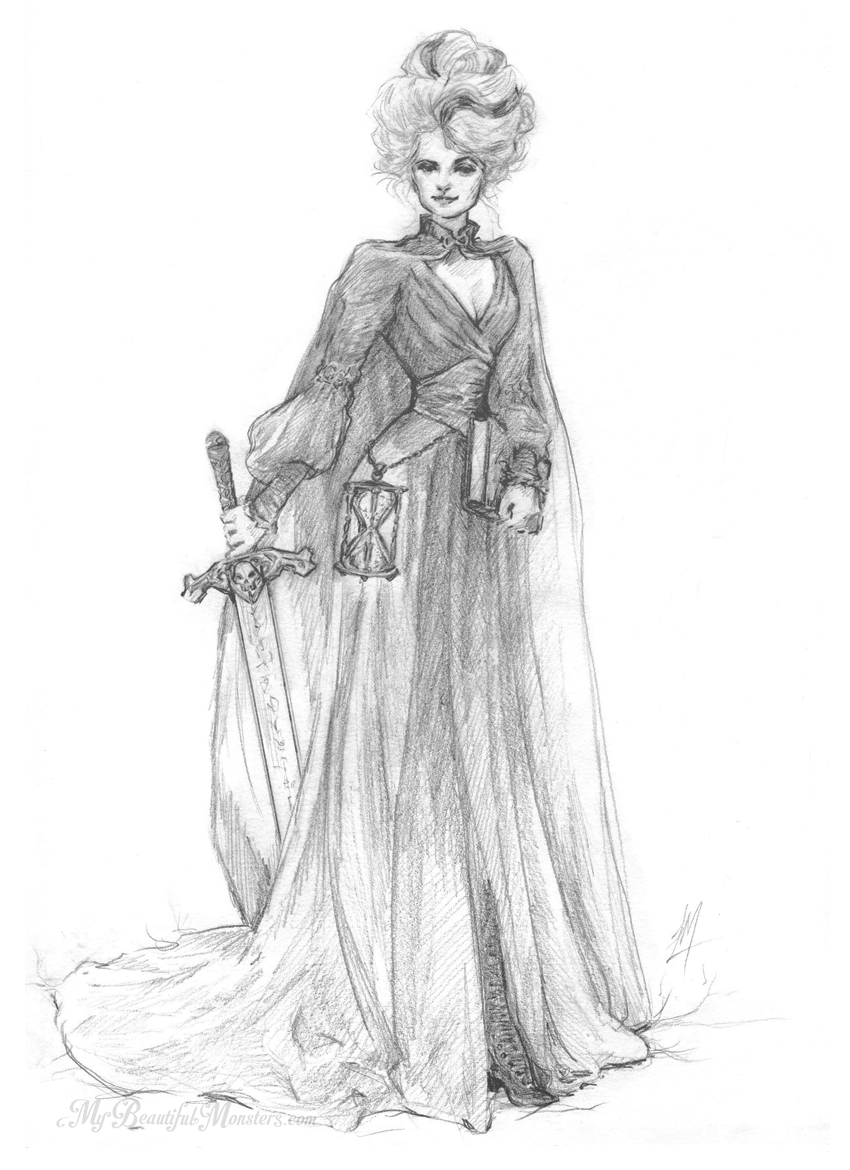 Susan Sto Helit - Character Sketch Terry Pratchett's Discworld