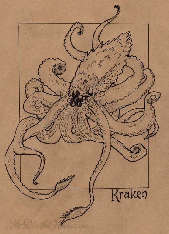 inktober2016_kraken