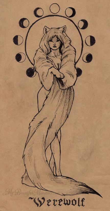 inktober2016_werewolf