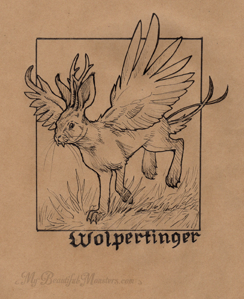 inktober2016_wolpertinger