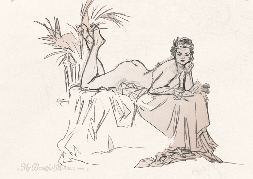 Covert Characters Life Drawing – French Deco Session with