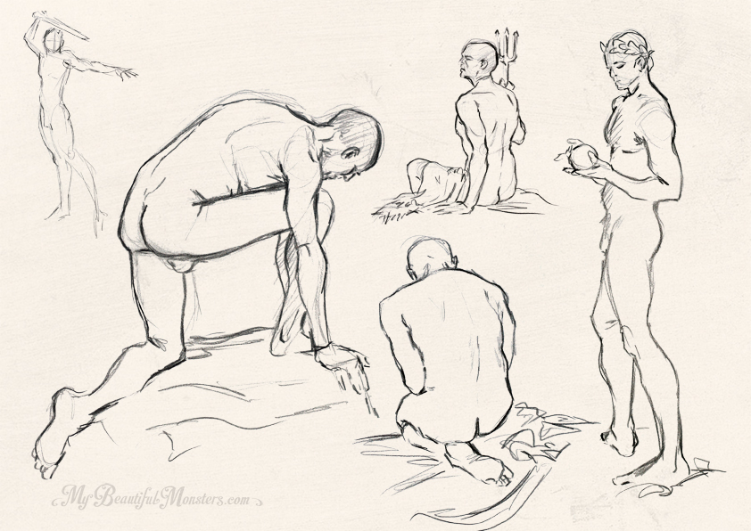 life drawing – Page 3 – My Beautiful Monsters